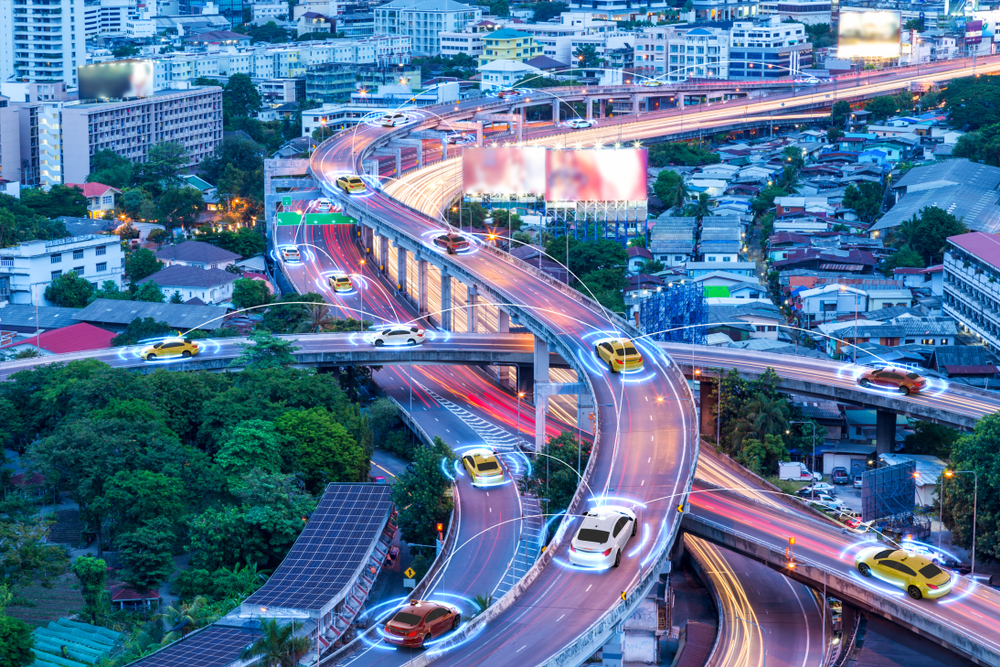How do autonomous vehicles in logistics impact real estate?